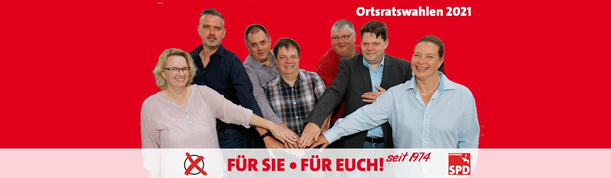SPD Hevensen • seit 1974